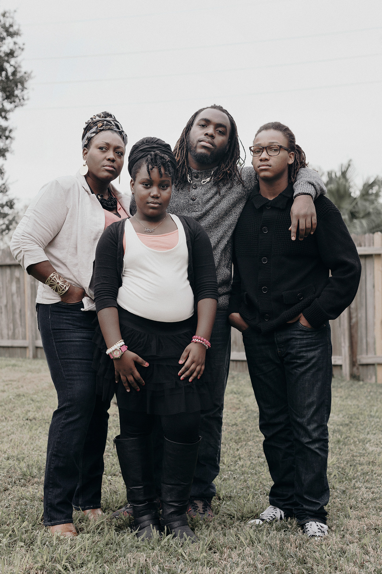 The Simmons family of Texas photographed by editorial photographer, Todd Spoth, at their Sugarland, Texas home.