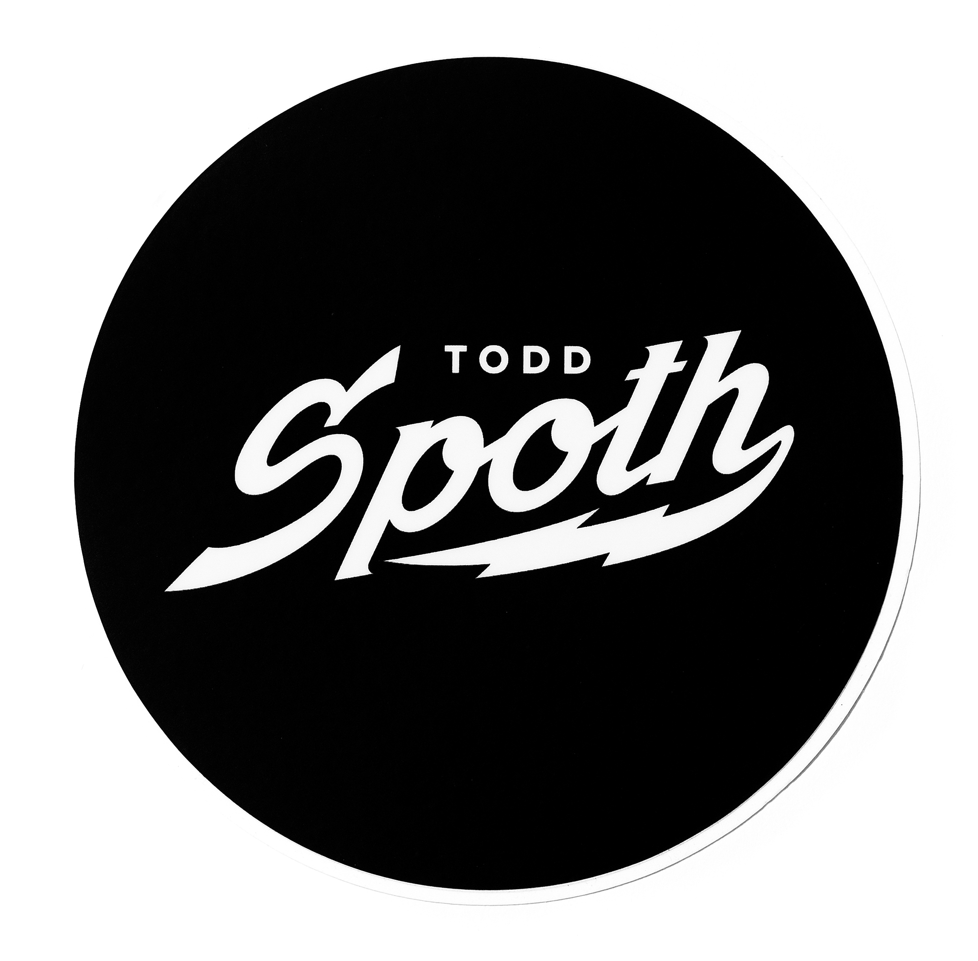 TODD SPOTH STICKER (2016)